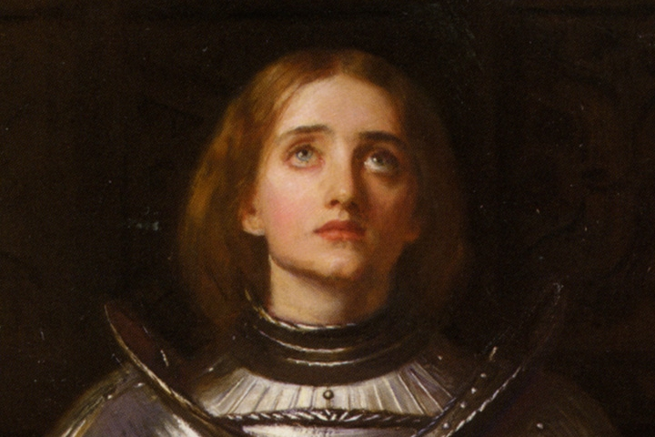Joan of Arc is one of the most famous female leaders in ancient history.