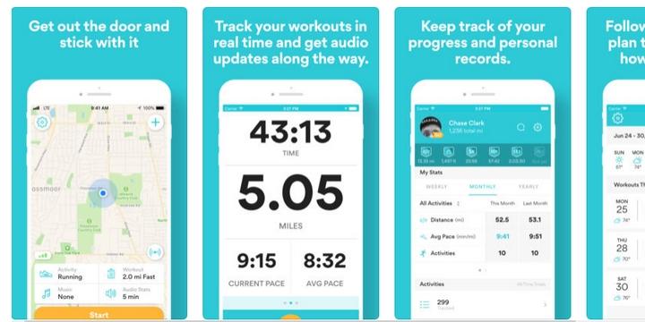 Runkeeper - Best bike app for GPS tracking