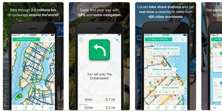 CycleMap - Best bike app for meet-ups