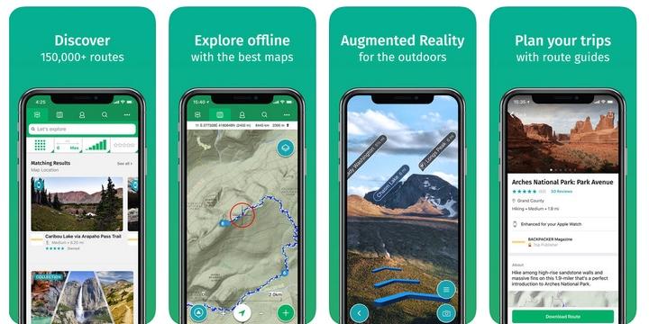 ViewRanger - Best bike app for hikers
