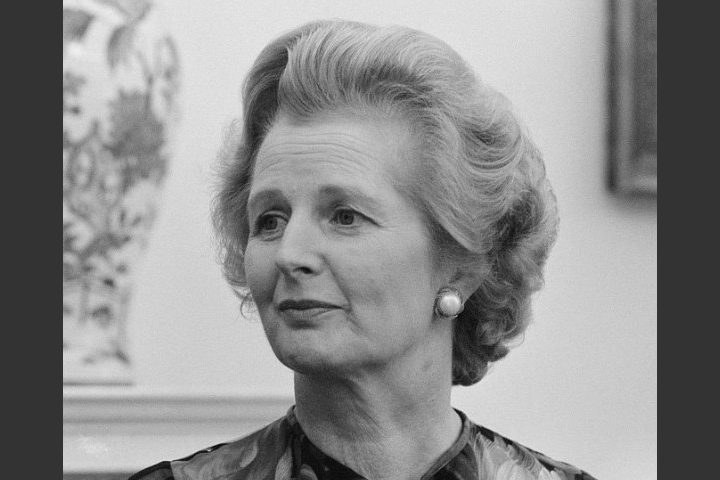 Margaret Thatcher is one of the most famous female leaders in Britain.