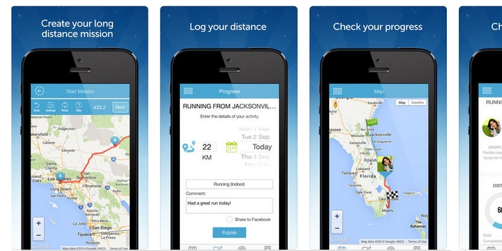 My Virtual Mission - Best bike app for setting goals